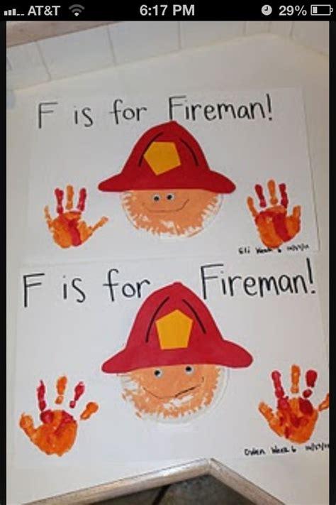 firefighter theme for preschool fireman craft abc ideas crafts 621