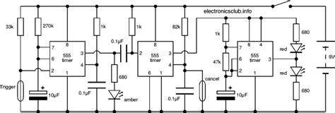 Electronics Club Project Railway Level Crossing Lights