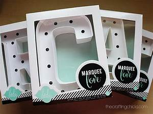 Create marquee letters the crafting chicks for Michaels marquee letters