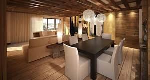 Decoration Interieur Chalet Bois : deco chalet bois interieur bricolage maison et d coration ~ Zukunftsfamilie.com Idées de Décoration