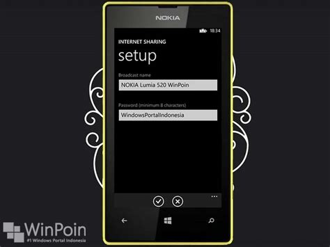 sankaracarya cara mengubah nokia lumia 520 menjadi wi fi