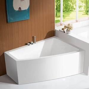 Baignoire Angle Douche : baignoire acrylique kingston baignoire ilot rectangle rue du bain ~ Voncanada.com Idées de Décoration