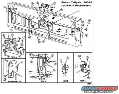 Ford Bronco Diagrams Pictures Videos Sounds