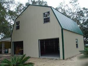 steel metal 2 story building home gambrel roof With 2 story metal building kit