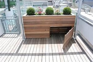hochbeet mit stauraum balkon und garten pinterest With whirlpool garten mit sitzbank balkon stauraum