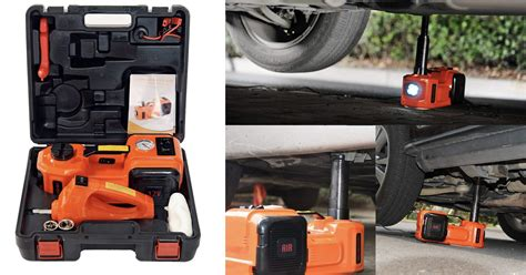 Electric Hydraulic Floor Jack And Tire