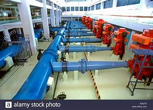 Lyon France  Clean Water Treatment Plant Veolia Water