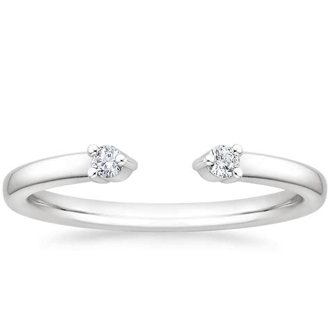sleek stacking rings