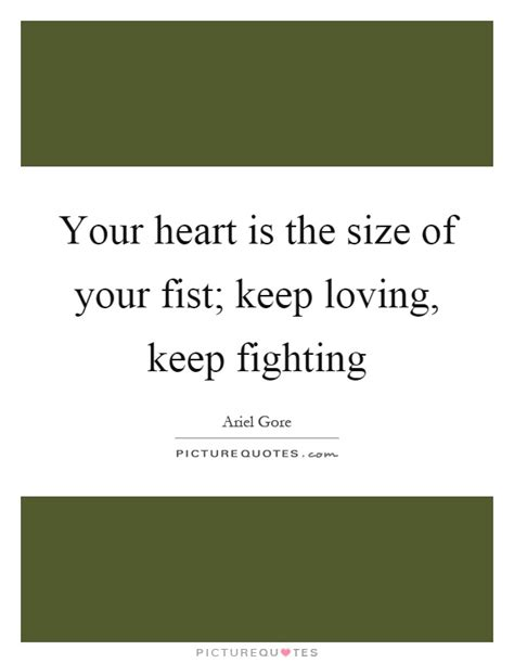 Keep Fighting Quotes Pictures