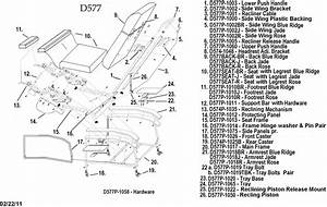 55 Recliner Parts Diagram  Lazy Boy Rocker Recliner Parts