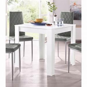 Table 4 Personnes : table salle manger carr e 4 personnes gris 3 suisses ~ Melissatoandfro.com Idées de Décoration