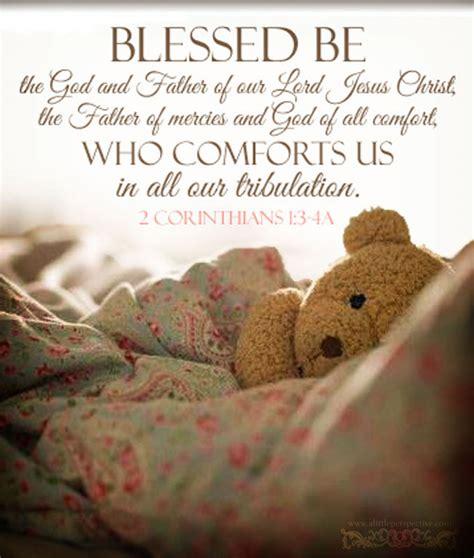 god comforts us corinthians