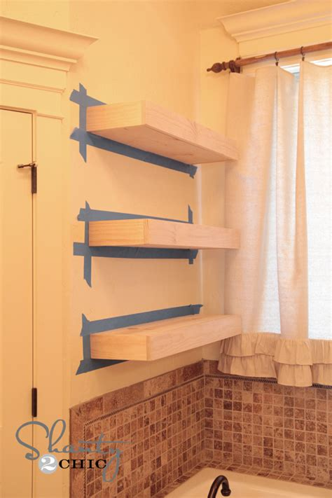 how to build open cabinets easy diy floating shelves floating shelf tutorial video