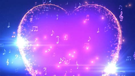 Background Images by 30 Minutes Musical Notes Hd Motion