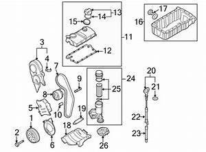 2005 Volkswagen Passat Engine Crankshaft Pulley  2 0 Liter