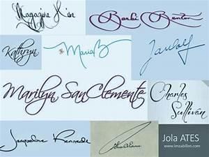 beautiful signature examples | signature analysis ...