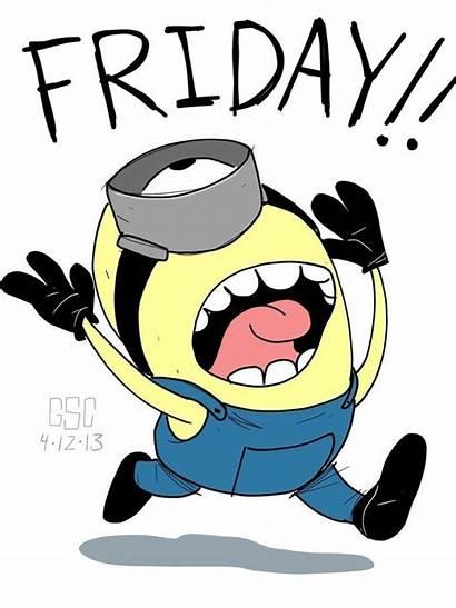 Friday Minion Funny Minions