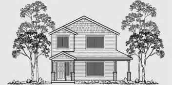 house plans for narrow lots with front garage two story house plans narrow lot house plans rear garage