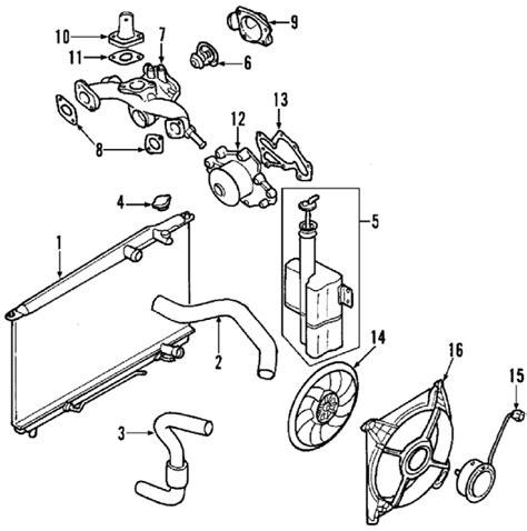 2010 Hyundai Santum Fe Engine Diagram by Parts 174 Hyundai Radiator Assy Partnumber 253101u250