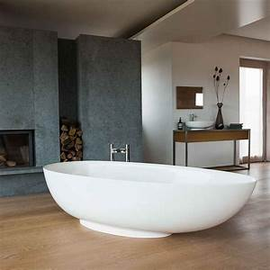 Clearwater Teardrop ClearStone Freestanding Bath 1690