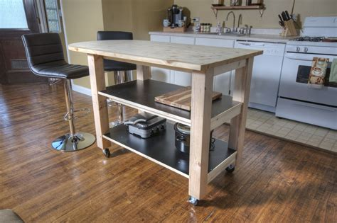 kitchen island on wheels plans how to build diy kitchen island on wheels diy how to 8201