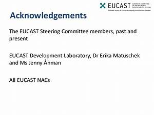 EUCAST and National Antimicrobial Susceptibility Testing ...