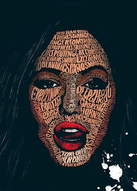 typographic illustrations by peter strain