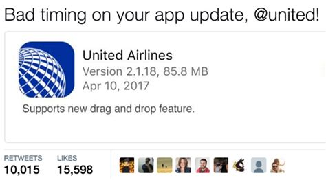 united airlines service desk the 12 funniest internet responses to united airlines
