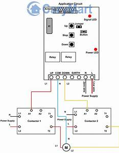 Contactor Wiring Diagram With Timer  Diagram