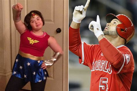 Albert Pujols Special Olympics Champ Daughter Will Warm