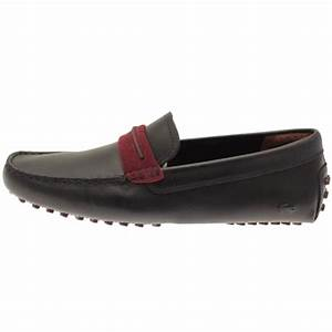 Lacoste Lacoste Herron 317 Navy Blue Leather Slip On ...