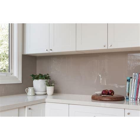 lighting a kitchen splash diy 3150 x 690mm white splashback bunnings 3769