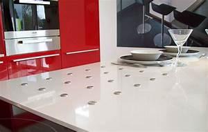 Cuisine Marbrerie Dcoration Plan De Travail Quartz Granit