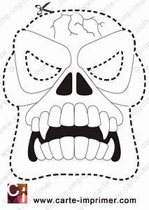 Masque Halloween A Fabriquer : masque d 39 halloween a imprimer votre image id 50 sur ~ Melissatoandfro.com Idées de Décoration