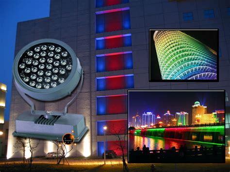 led flood light wall washer 36w rgb architectural