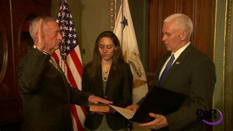 mattis takes oath   defense secretary