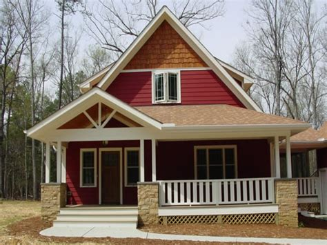 Craftsman House Plans Simple Roof Classic Craftsman