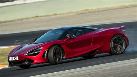 New Mclaren 720s Supercar On The Track Youtube