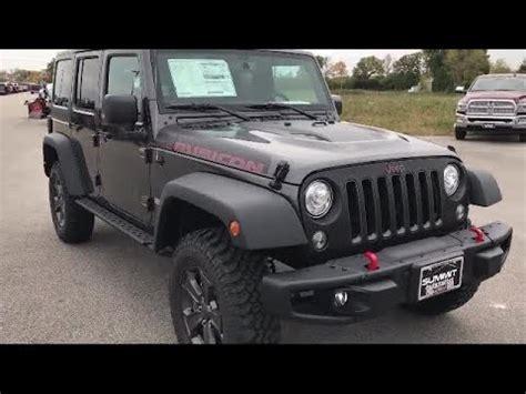 jeep wrangler unlimited  door rubicon recon