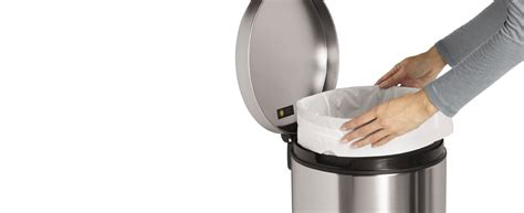 simplehuman custom fit trash bags garbage liners