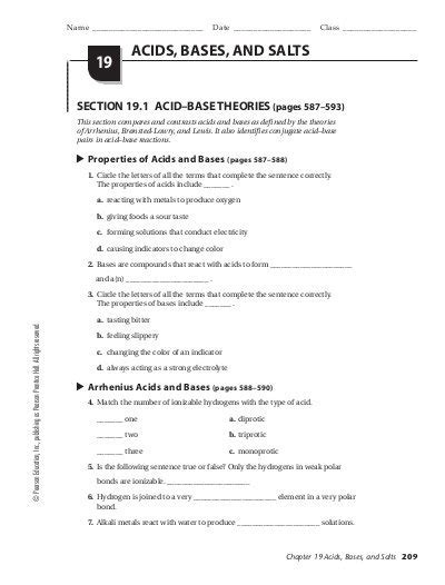 acid and base worksheet pdf miss s class wiki