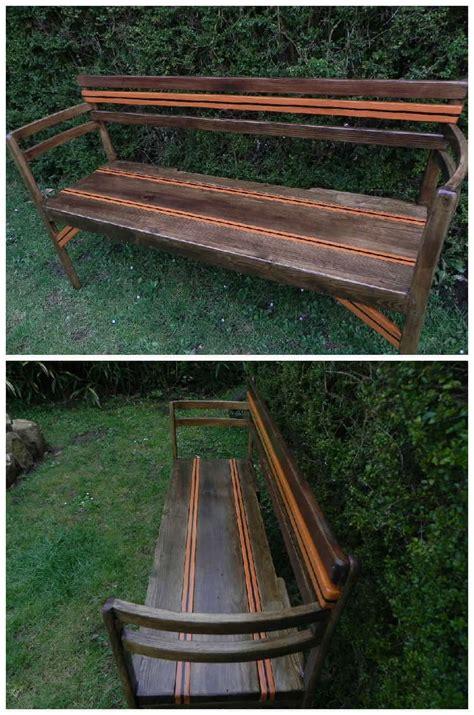 garden bench   pallet boards   chairs