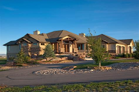 Craftsman Luxury Ranch Texas Style House Plans House Plans