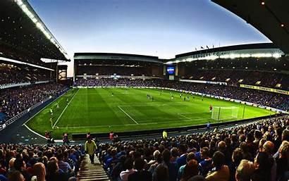 Ibrox Rangers Stadium Glasgow Football Fc Scotland