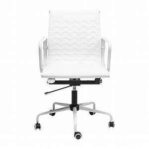 Chaise De Bureau Moderne : chaise de bureau moderne blanche wave kare design ~ Teatrodelosmanantiales.com Idées de Décoration