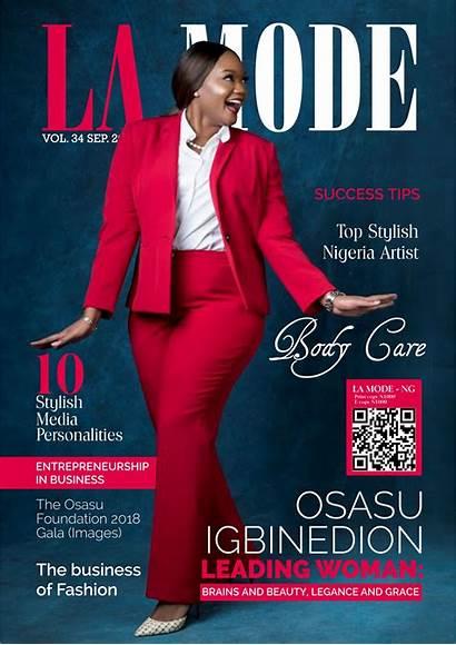 Magazine Osasu Igbinedion Mode September Issue Personality