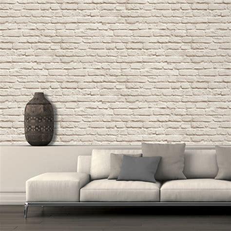 cuisine peinte en gris papier peint brique pour un salon de style industriel