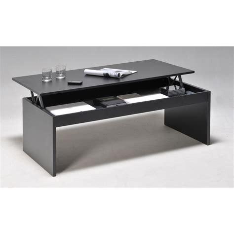 meuble cuisine avec table escamotable table basse rectangulaire en bois l120cm avec plateau