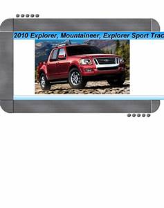 Diagram  2003 Ford Explorer Sport Trac Service Shop Set