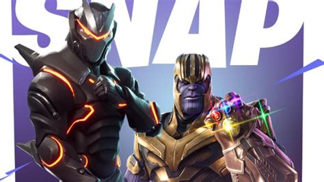 Youu2019ve Seen Thanos in Avengers Infinity War Now Play as Thanos in Fortnite - Geek.com